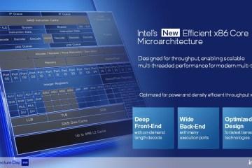 Intel Architecture Day 2021: x86 Efficient Core
