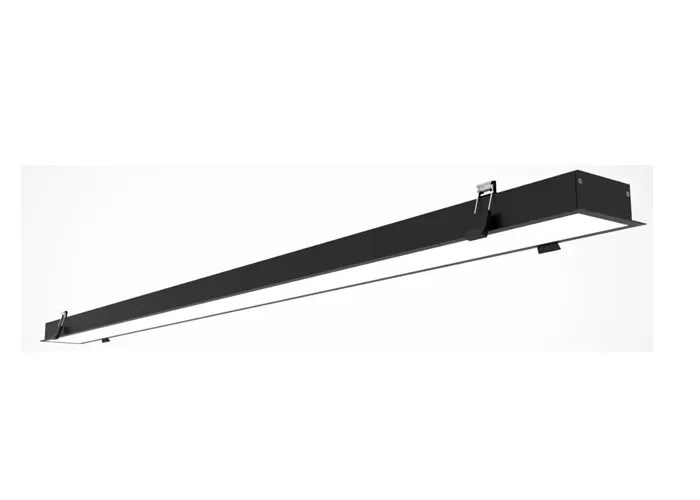dimmable recessed linear led lighting fixture with die casting aluminum material