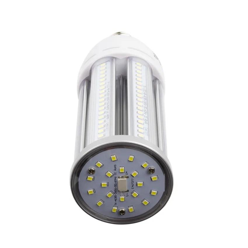 Lampe LED clairage Public Corn E27 30W  Ledkia France