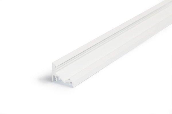 LED Profil Eckprofil weiß