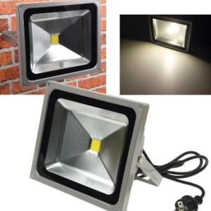 50 Watt LED Fluter mit Stecker Chilitec®