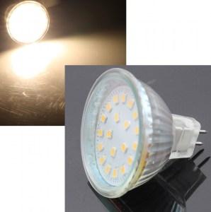 MR16 GU5.3 12V LED Strahler warmweiss