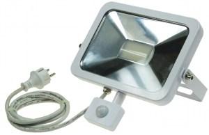 Flacher, Slim LED Strahler 50W mit Bewegungsmelder