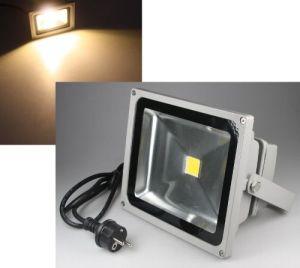 30W LED Fluter IP44 mit Kabel und Stecker