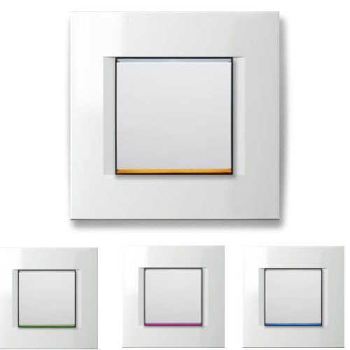 LED Dimmer mit RGB Leiste