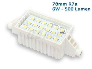 78mm R7s LED Stab 6W