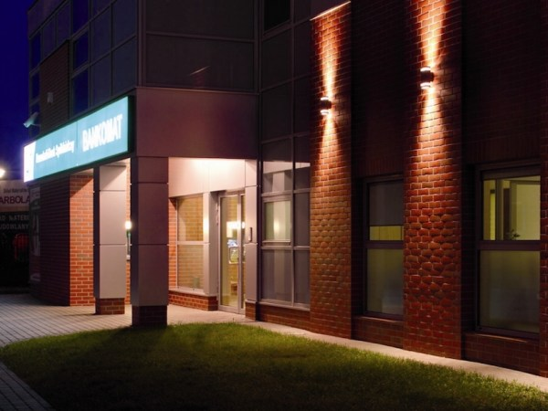 Einrichtung LED Wandleuchte zweiflammig ZEW