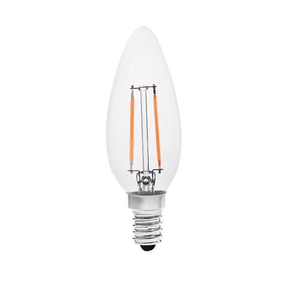 E14 Filament LED 2W Kanlux Decori