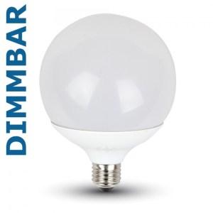 13W G120 Globe LED dimmbar