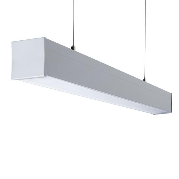 LED Deckenleuchte silber 60cm 120cm 150cm