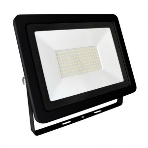 100W LED Fluter, Strahler Slim 6800 Lumen warmweiß