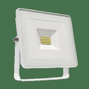 10W LED Fluter flach weisses Gehäuse