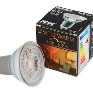 LED GU10 345 Lumen warmweiß dimmbar