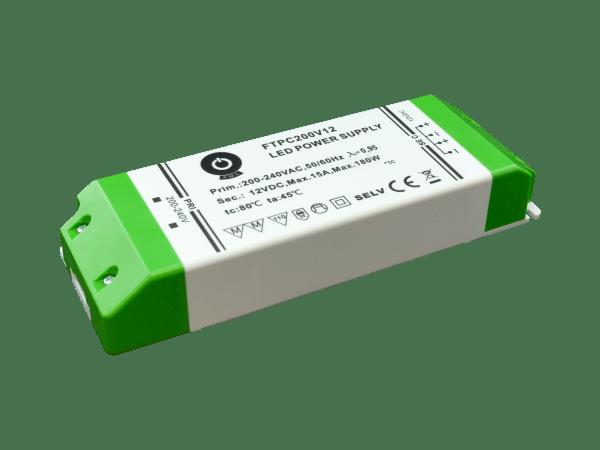 180W LED Trafo 12V DC für Möbeleinbau