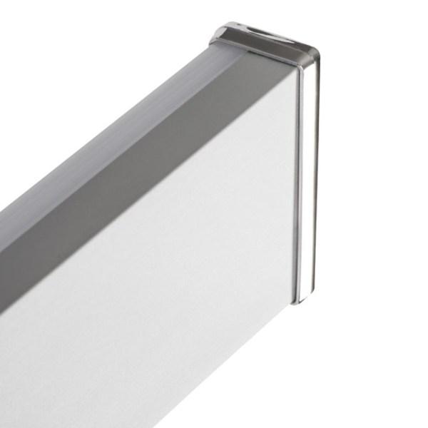 LED Badleuchte aus Aluminium und Kunststoff