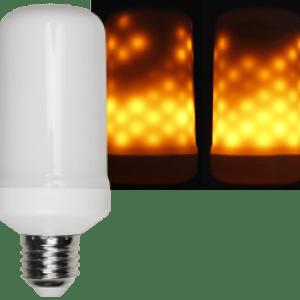 LED Flammen Lampe E27 ultra warmweiß