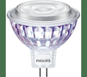 Philips Master MR16 7W = 50W 660Lumen 4000K - Winkel 60º -