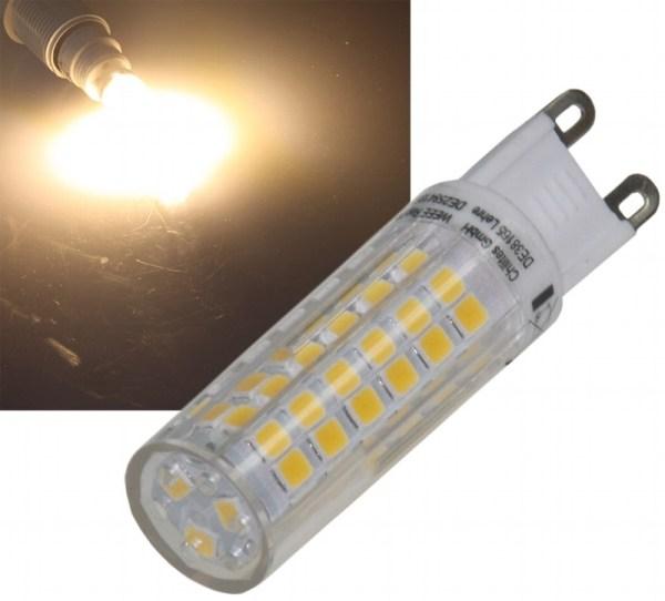 sehr helle 6W LED G9 warmweiss