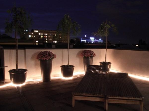 Sehr helles LED Strip 5m warmweiss