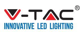 VTAC GLass LED Tube T8 120cm