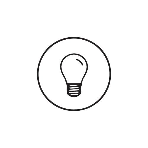 LED Inbouwspot Monza rond vol aluminium 3 Watt Vervangt