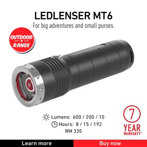 Ledlenser MT6 - Outdoor Torch Flashlight