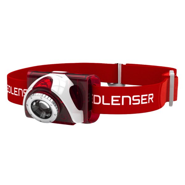 SEO5-RED-Ledlenser Headlamp