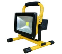 30W / 50W Battery Powered Floodlight , Outdoor LED Flood ...