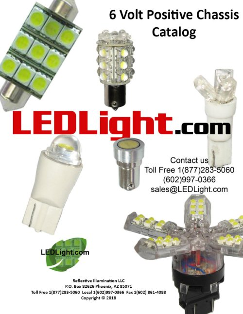 small resolution of download or print catalog of led lights led bulbs and led lamps for 6 volt positive ground chassis