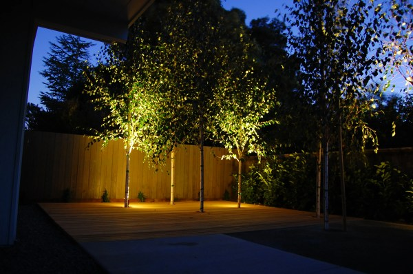 Outdoor Landscape Lighting Tree