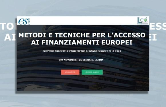 Grande iniziativa di LED –   Con ES-COM anche a Latina alta formazione in progetti europei