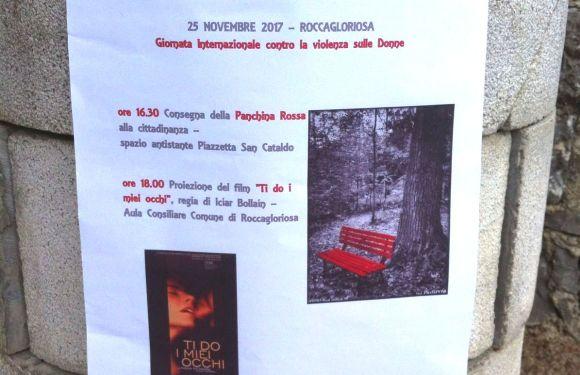 QUI CAMPANIA – Una panchina rossa anche dal cuore del Cilento