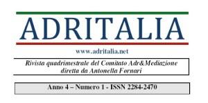 ADRITALIA, rivista della Mediazione per l'Avvocatura che cresce.