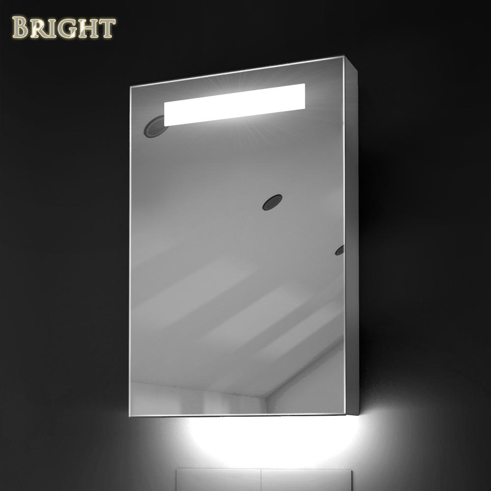 LED Lighted Medicine Mirror Cabinets  China LED Bathroom
