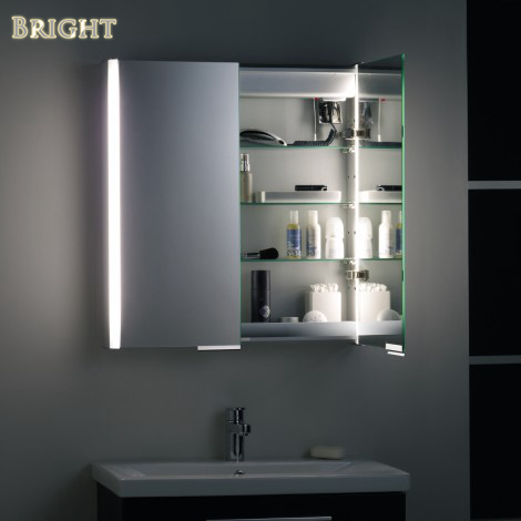 Modern LED Lighted Medicine Cabinet  China LED Bathroom