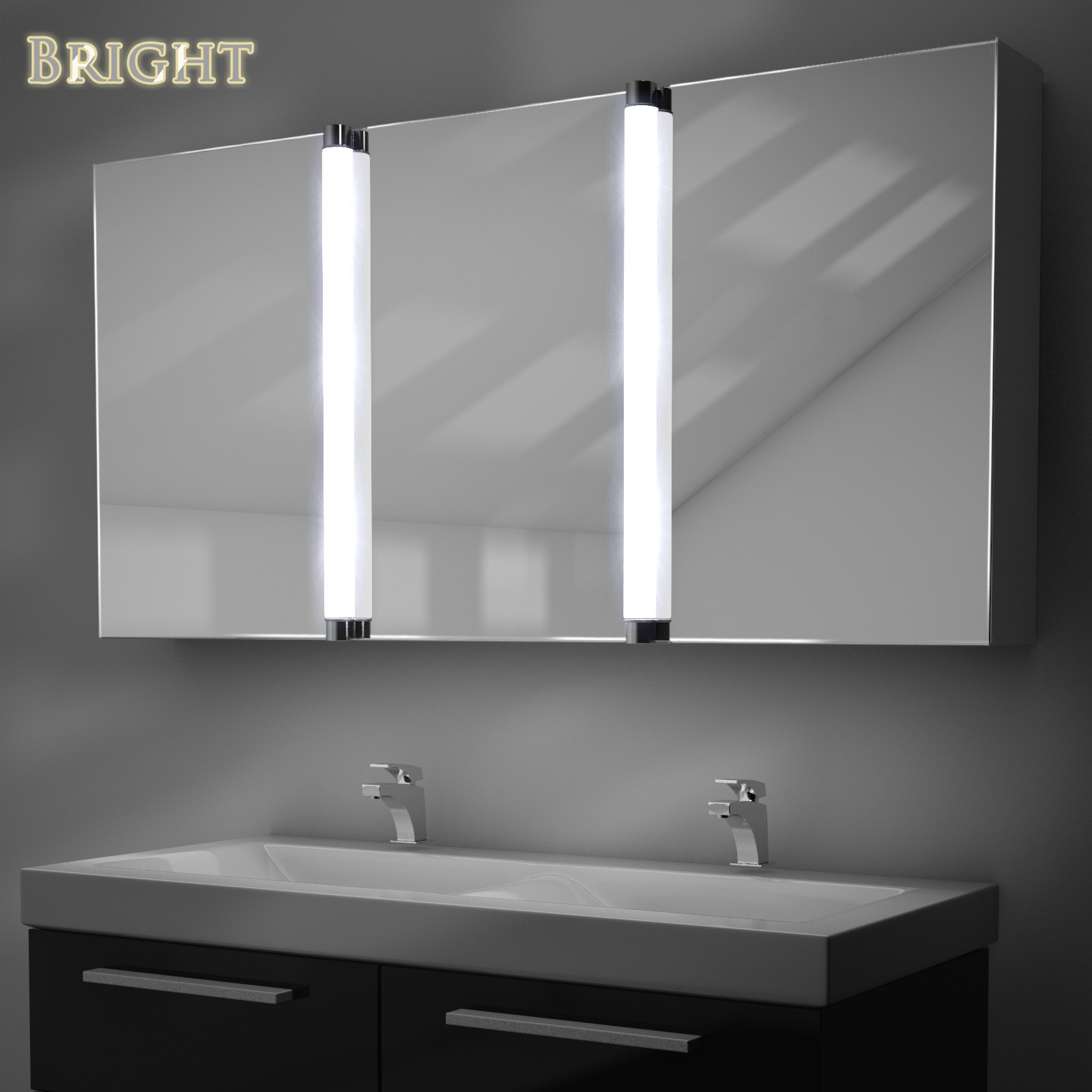 Lighted Mirrors For Bathroom