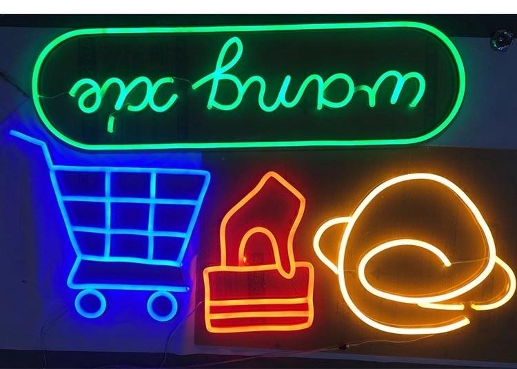 Nice Custom Neon Signs For Home , Bedroom / Shop Custom