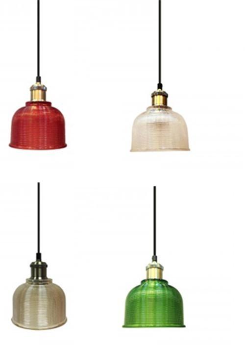 Hanglamp Gekleurd Glas Hanglamp Kristal Helder Glas