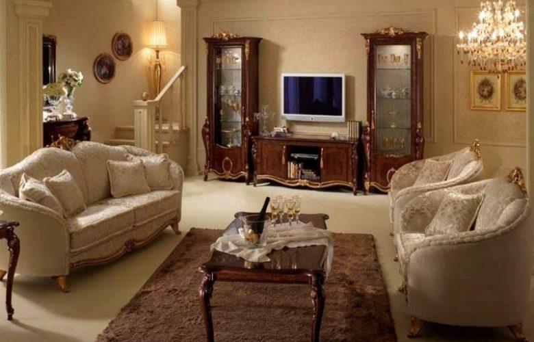 Come arredare il salotto in stile classico  Le Dolci Nanne