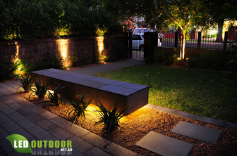 Townhouse Garden Brought To Life At Night With Led S Led