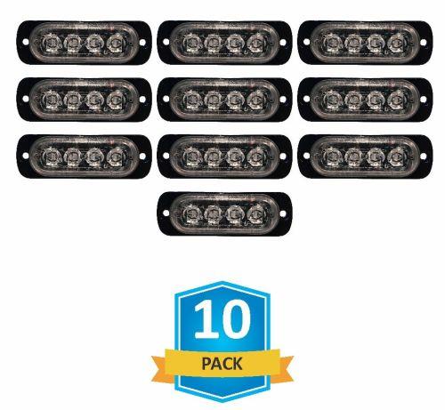 small resolution of damega flex 4 slim led grille light 10 pack