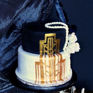 le doux fruit patisserie artisanale montpellier gateau anniversaire design gatsby année 20