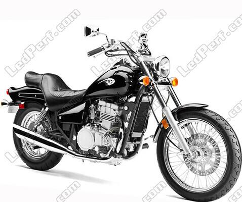 Kit Bi Xénon HID 35W ou 55W pour Kawasaki EN 500 Indiana