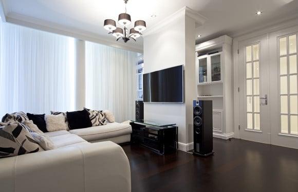 Aplicação da Lâmpada LED Bulbo em Sala de Apartamento