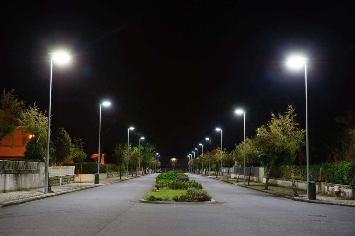 Aplicação Luminária Pública de LED