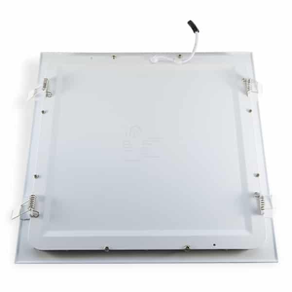 Costas do Painel de LED Quadrado de Embutir