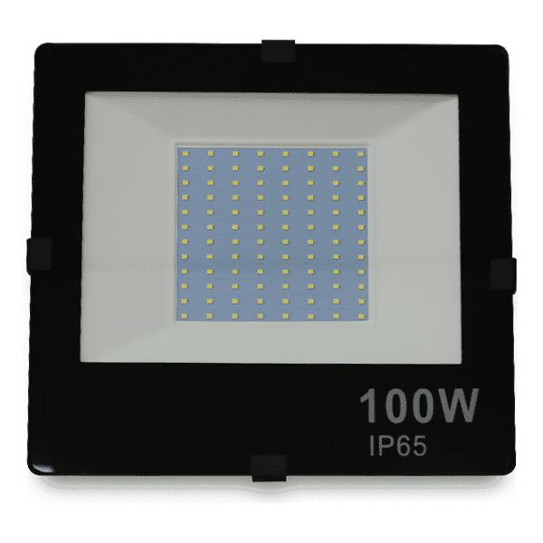 Frente do Refletor de LED 100W