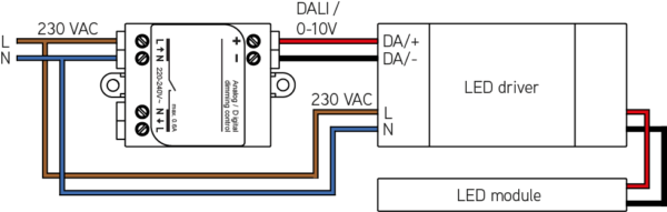dali led driver wiring diagram network crossover cable 0 1 10v interface connected light ledsgo connection