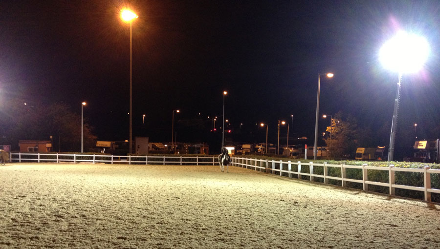 horse arena lighting how to light up