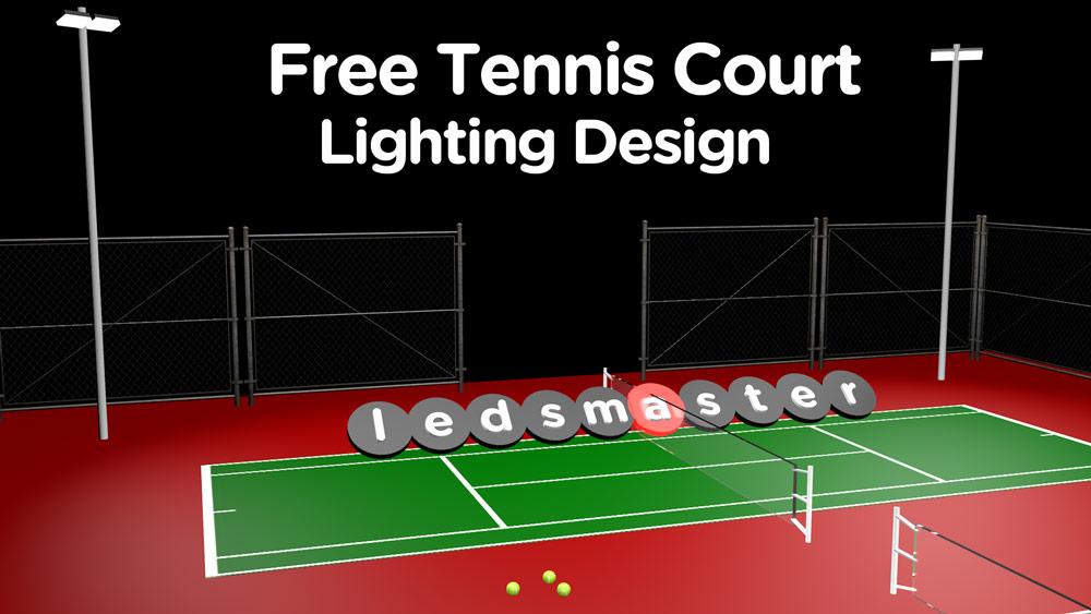 best led tennis court lighting
